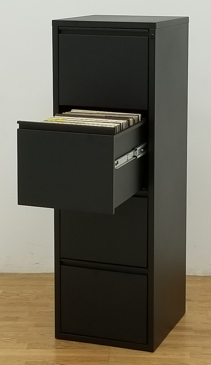 4-Drawer Vinyl LP Storage Cabinet - $950.00