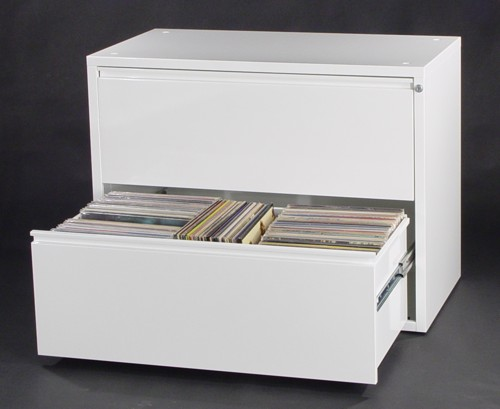 2-Drawer Vinyl LP Storage Cabinet - $650.00
